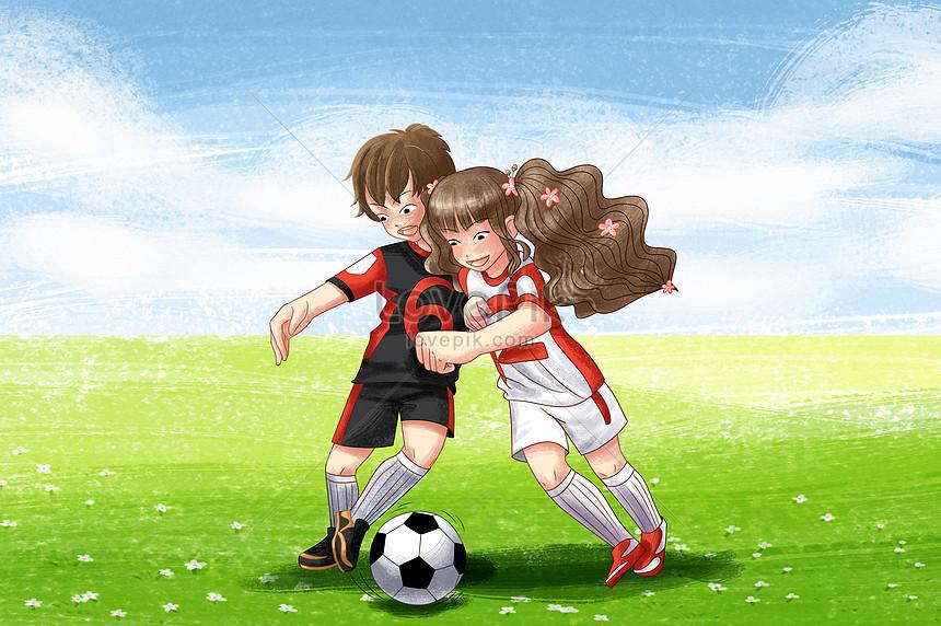 Mơ thấy đá bóng