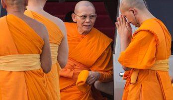 Mơ thấy thầy chùa